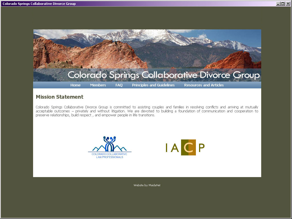 CSCDG Colorado Springs Collaborative Divorce Group